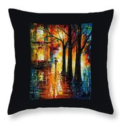 Suppressed Memories Throw Pillow