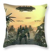 Supreme Commander 2 Throw Pillow