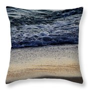 Surf And Sand Throw Pillow