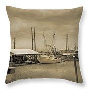 Surf City North Carolina Throw Pillow