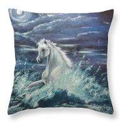 White Spirit Throw Pillow
