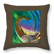 Surf Love Clark Little By Luke Throw Pillow