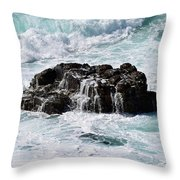 Surf No. 134-1 Throw Pillow