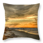 Surf Patrol Throw Pillow