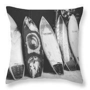 Surf Rodeo Throw Pillow