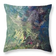 Surface Moon Of Another Venus Throw Pillow