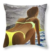 The Last Ride Throw Pillow