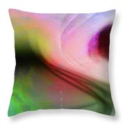 Surfing In The Light Throw Pillow