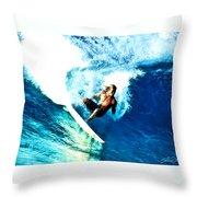 Surfing Legends 9 Throw Pillow