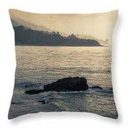 Leo Carrillo Beach Throw Pillow