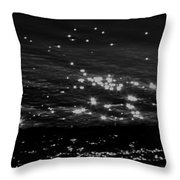Surfing The Cosmos Throw Pillow