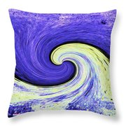 Surfs Up 3 Throw Pillow