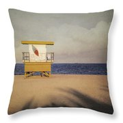 Surf's Up W Textures Throw Pillow