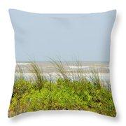 Surfside Dunes Throw Pillow