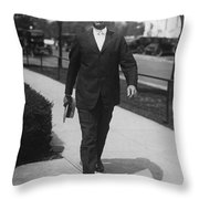 Surgeon General Walks To Work Throw Pillow