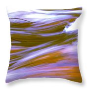 Surging Currents Throw Pillow