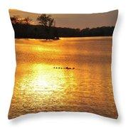 Surise-sunset 4 Throw Pillow