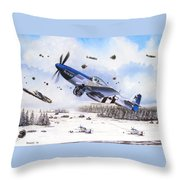 Surprise At Asch Throw Pillow