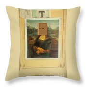 Surprise Attraction Throw Pillow