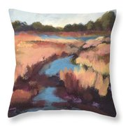 Surprise Wetland Throw Pillow