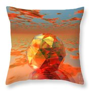 Surreal Dawn Throw Pillow
