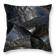 Surreal Dimension Throw Pillow