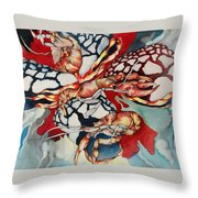 Surreal Dimensions Throw Pillow