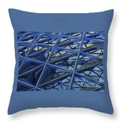 Surreal Dome Glass Throw Pillow