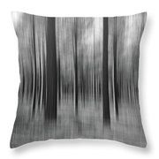 Surreal Forest Abstract. Throw Pillow