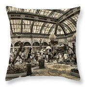 Surreal Gardens Throw Pillow