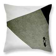 Surreal Isolation Throw Pillow