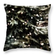 Surreal Lights Throw Pillow