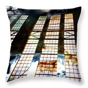 Surreal Nightscape Throw Pillow