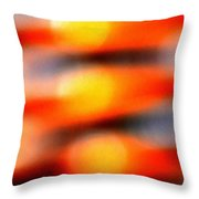 Surreal Perspective No. 110, Tue--10oct2017 Throw Pillow