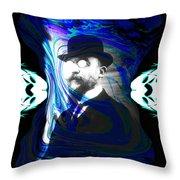 Surreal Satie, The Velvet Gentlemen Throw Pillow