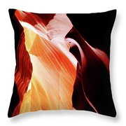 Surreal Shapes In Form And Time Throw Pillow