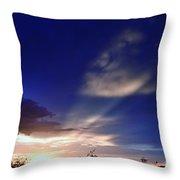 Surreal Sky-escape Throw Pillow