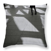 Surreal Space Throw Pillow