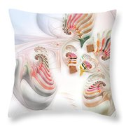 Surrealism Examined Throw Pillow