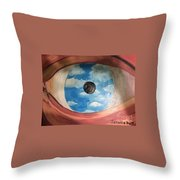 Surrealism Throw Pillow