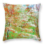 Lightness Of Surrender Throw Pillow