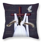 Surrender To Jesus Throw Pillow