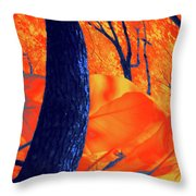 Surrounded 10 Throw Pillow