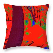 Surrounded 5 Throw Pillow
