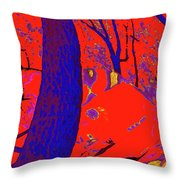 Surrounded 6 Throw Pillow