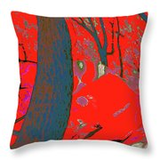 Surrounded 8 Throw Pillow