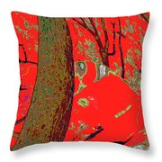 Surrounded 9 Throw Pillow