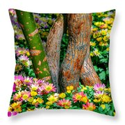 Surrounded Throw Pillow