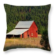 Surrounded By Forest Throw Pillow
