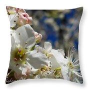 Surrounding Beauty Throw Pillow